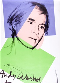 poster for zürich retrospective by andy warhol