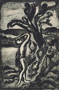 incantation (chapon & rouault 8d) by georges rouault
