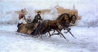 reessä (the sledge ride) by rudolf frentz the elder