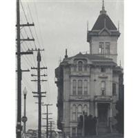 william westerfeld house, san francisco (+ high-rise building; 2 works) by pirkle jones