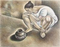 alfarera by raúl anguiano