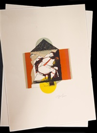 sans titre (2 works) by dennis oppenheim