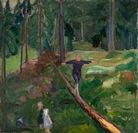 barn i skogen by bernhard d. folkestad
