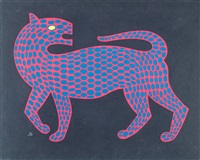 léopard by victor vasarely