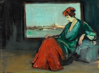 woman by the window by esther peretz arad