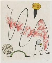oiseaux en peril (suite of 8) by max ernst