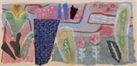 kleiner blütengarten mit teich by elisabeth ahnert