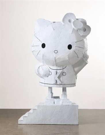 wind up hello kitty by tom sachs