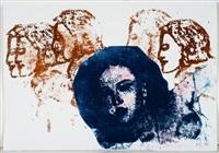 frieze, artemis u.a (set of 6) by nancy spero