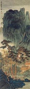 崇山楼阁 by xie zhiliu