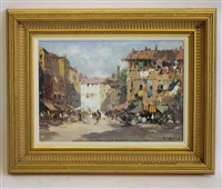 in the market square by john ambrose