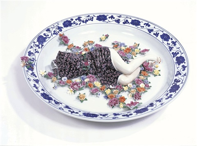 polychrome ceramic series by liu jianhua