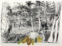 the garden in sanur (bali) by brett whiteley