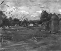 copake farm by louis bouché