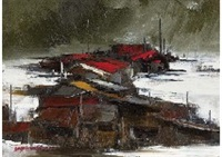 fisherman's village in north by yotsuo kasai