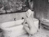sulphur bath, big sur by ellen auerbach