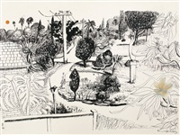 lindfield gardens by brett whiteley