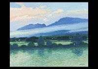 aso country in the morning by hitoshi yamaba