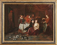 die austernesser by jan josef horemans the younger