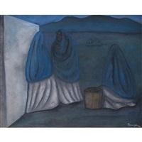 mujeres al amanecer by rufino tamayo