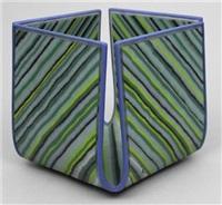 zierschale in mosaikglastechnik by klaus moje