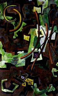 abstrakte komposition by herbert helmert