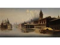 grosse venezianische vedute by friedrich wilhelm jankowski