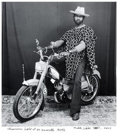 mamourou sidibe et sa nouvelle moto by malick sidibé