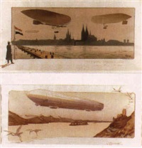 zeppelin by e. montaut