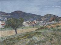 landskap, sydfrankrike by axel nilsson