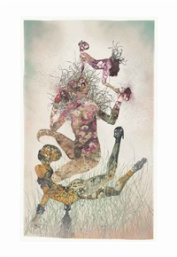sleeping sickness saved me by wangechi mutu