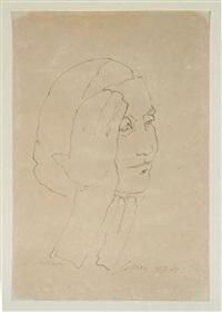 retrato de zélia by carlos scliar