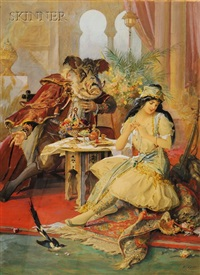 beauty and the beast by g. frederick kaber