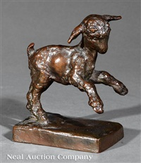 untitled (prancing lamb) by edith barretto stevens parsons