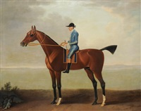 lady o'brien's horse with footman by john wootton