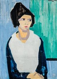 női portré by margit móricz