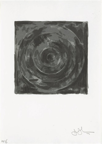 target (from for meyer schapiro) by jasper johns