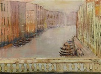 venise le grand canal by verone