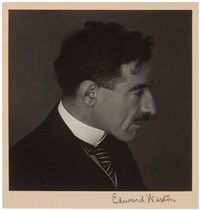 portrait of dr. eloesser by edward weston