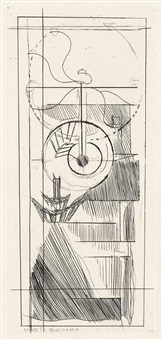 coffee mill by marcel duchamp