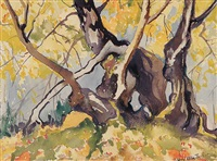 untitled (approaching fall no. 2) by mildred valley thornton
