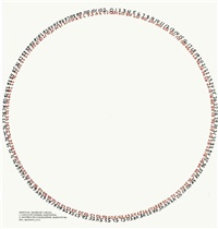 counting exercise: circles by mel bochner