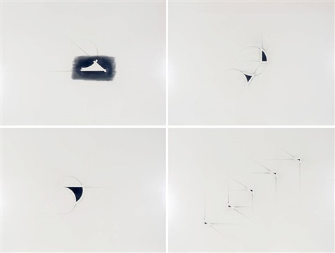 extrapolations 4 others brush drawings smllr 5 works by benni efrat