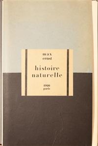 histoire naturelle (portfolio of 34) by max ernst