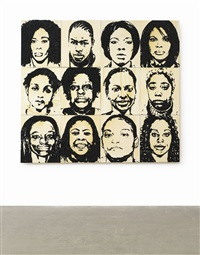 fbi/serial portraits (in 12 parts) by mickalene thomas