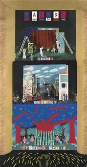 parade/metropolitan opera by david hockney
