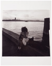 couple on a pier, n.y.c by diane arbus