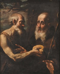 sant'antonio e san francesco by gioacchino assereto