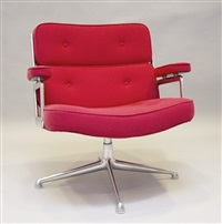 3 office chairs (2 works) by charles eames