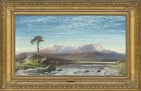 the first snow, the mountains of coniston by charles pettitt